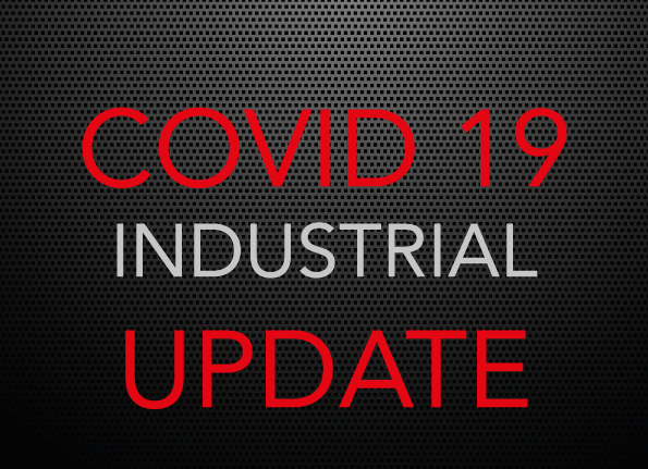 COVID 19 UPDATE – Industrial Customers